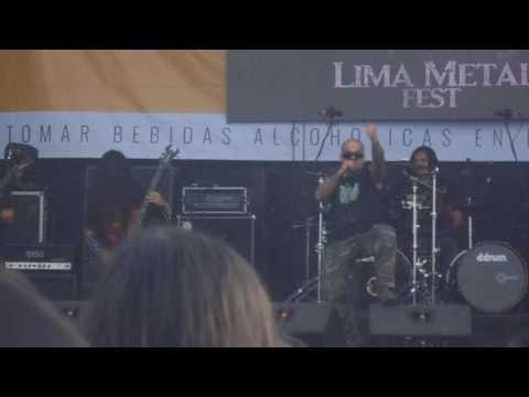 DISINTER EN LIMA METAL FEST 2016
