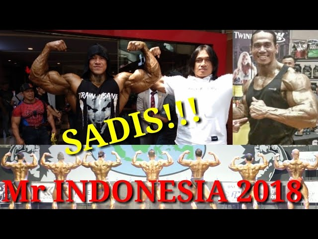 JUARA  #BINARAGA  Mr. INDONESIA 2018 Kls 85kg ++ #MONSTER #bodybuilding