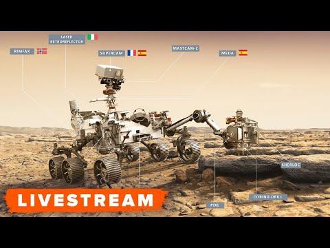 WATCH: NASA Previews Perseverance Rover Mars Landing - Livestream