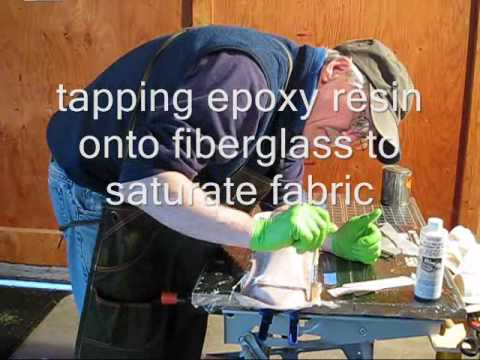 fiberglassing NACA vent