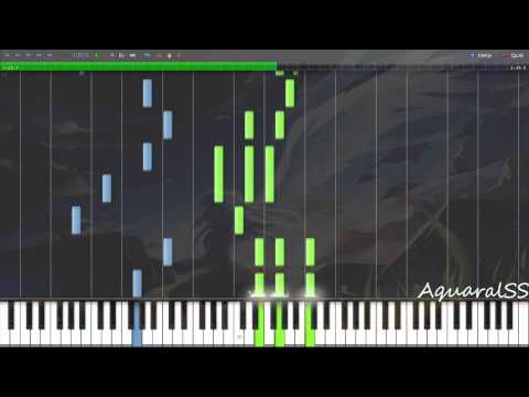 [Synthesia] Angel Beats! - Unjust Life (Piano Tutorial + DPS)