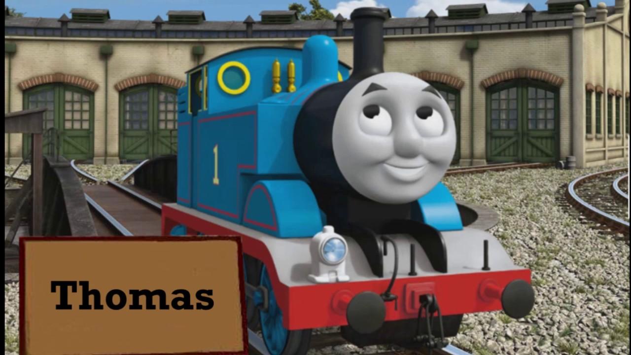 Thomas nameboards youtube