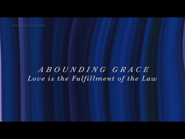 Love is the Fulfillment of the Law   Sam P. Chelladurai   Sunday Service   AFT Church  01-Nov-2020