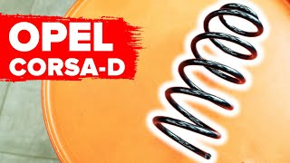 Wie Sie Stoßdämpfer Feder beim OPEL CORSA D selbstständig austauschen - Videoanleitung