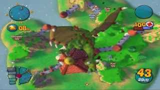 Worms 3D Gameplay Quick Game -Partida Rapida - Gane