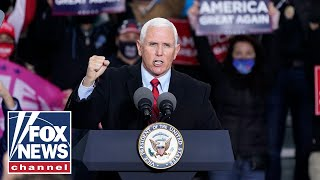 Pence hosts a 'Make America Great Again' event in Tallahassee, Florida