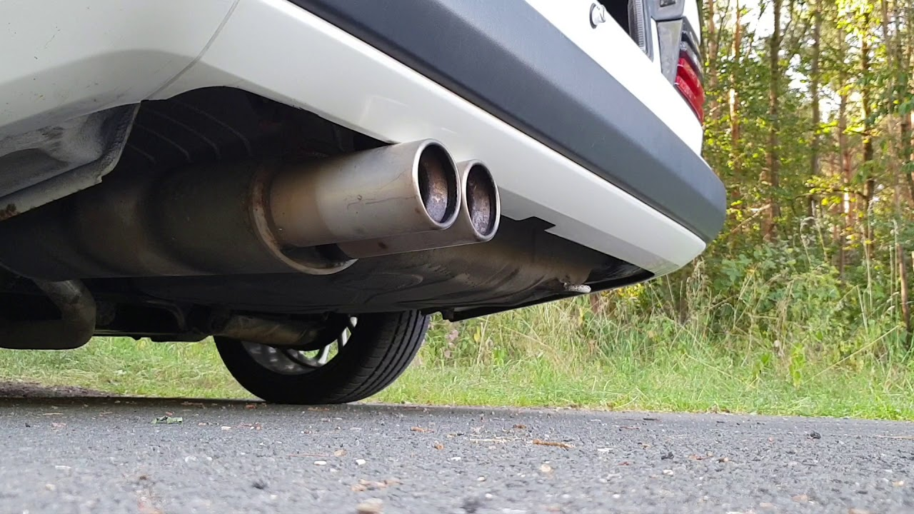 Mercedes W124 Supersport Exhaust Sound