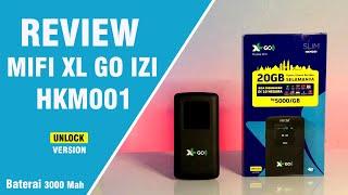 Mifi Modem Wifi 4G Unlock All Operator HKM 01 Free Perdana Telkomsel Kuota 14 Gb - Bypass