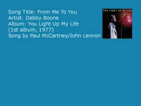 Debby Boone - From Me To You (Audio)
