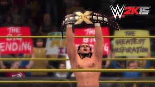 WWE 2K15: Who Got NXT walkthrough — Bo Dallas vs. Big E