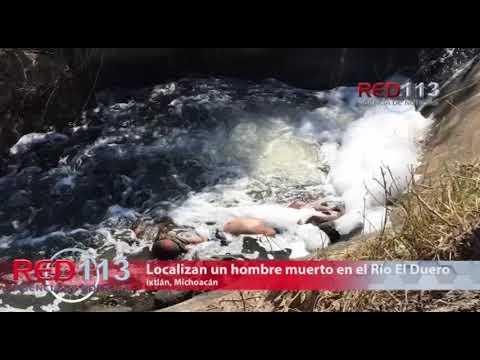 VIDEO Localizan un hombre muerto en el Río El Duero
