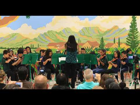 TheChanClan: Mililani Ike Elementary School Spring Orchestra Concert - May 2019