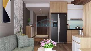 Nội thất thông minh cho căn hộ chung cư tại Hà Nội - Bếp iKitchen