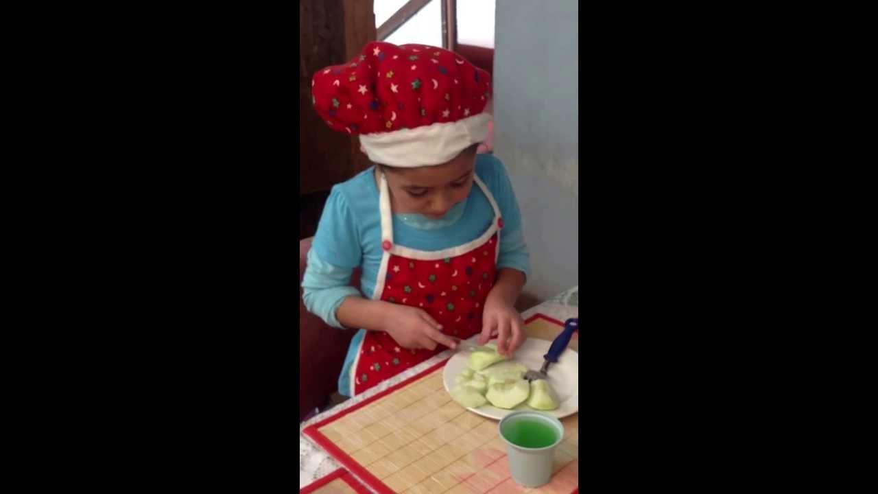 Como hacer un postre de manzana receta para ni os por una - Como hacer un dosel para cuna ...