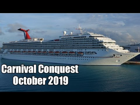 Carnival Conquest Ship Tour October 2019