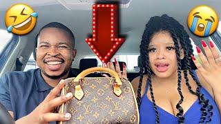 Fake LOUIS VUITTON bag PRANK on SIWE