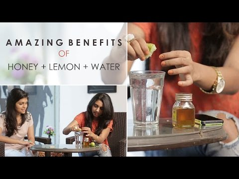 Honey Lemon Water For Glowing Skin Weight Loss
