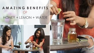 Honey Lemon Water For Glowing Skin & Weight Loss
