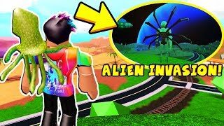 *NEW* JAILBREAK ALIEN INVASION MAP! (Roblox)