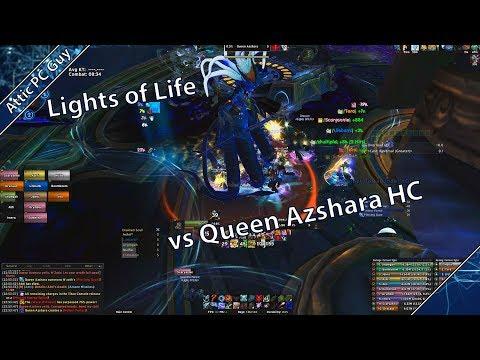 Queen Azshara HC vs Lights of Life First Guild kill - Hunter PoV