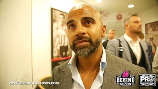 DAVE COLDWELL GIVES REACTION TO ERROL SPENCE'S WIN OVER KELL BROOK, SAYS BROOK SHOULD MOVE TO 154LBS