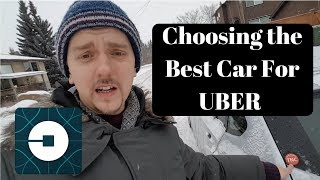 Choosing the best car for UBER and Lyft.