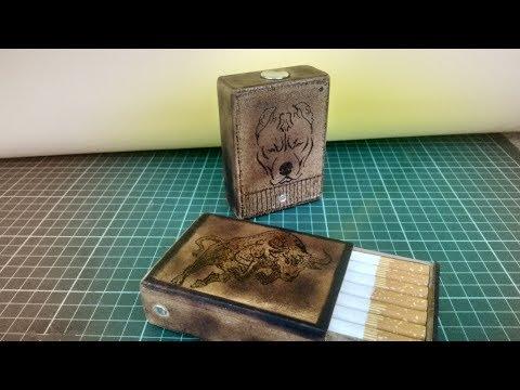 Do ıt yourself WOOD SMOKING PACKAGE( Ahşap sigara paketi)