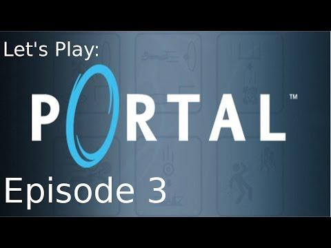 Companion Cube! -Ep 03 Let's Play: Portal