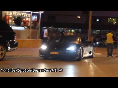 Ferrari 360 Spider Loud Acceleration In Tangier