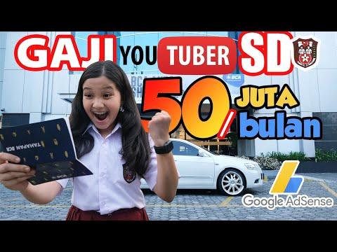 #NAYVlog   Gaji Youtuber SD