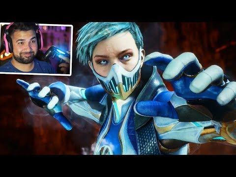 MORTAL KOMBAT 11 - FROST UNLOCKED AND SHES AWESOME!
