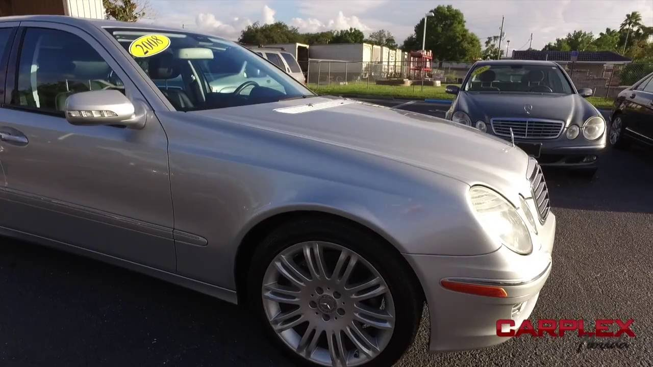 2008 Mercedes Benz E350 Luxury Carplex 8 22 Youtube