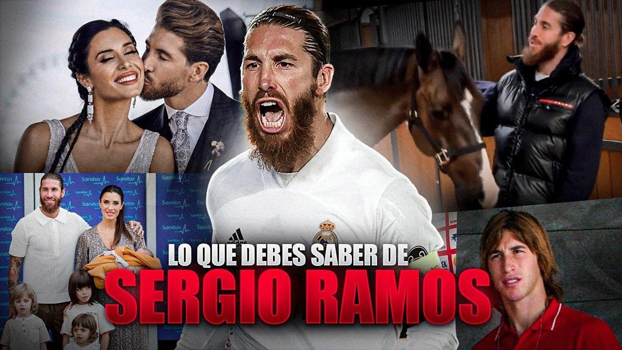 Lo que DEBES SABER de SERGIO RAMOS