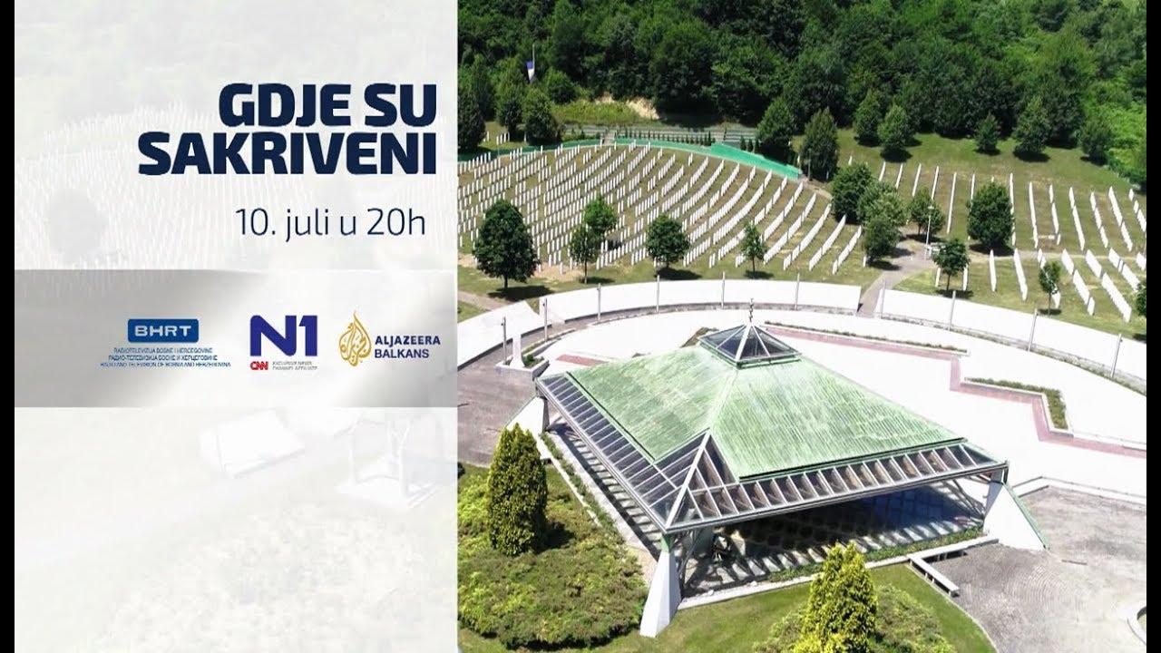 """Rezultat slika za Tribina: """"Gdje su sakriveni"""" Srebrenica"""