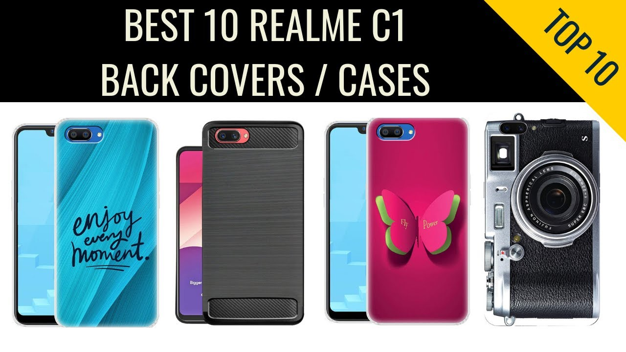 best service 60a91 b93dc 10 Best Oppo Realme C1 Back Cover / Cases In India With Price