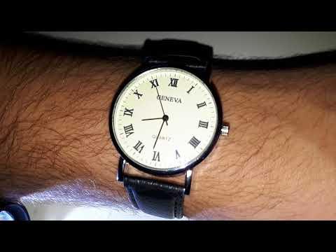 """Gearbest """"GENEVA Fashion Unisex Quartz Watch"""""""
