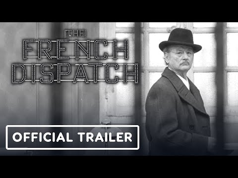 The French Dispatch - Official Trailer (2020) Wes Anderson, Bill Murray