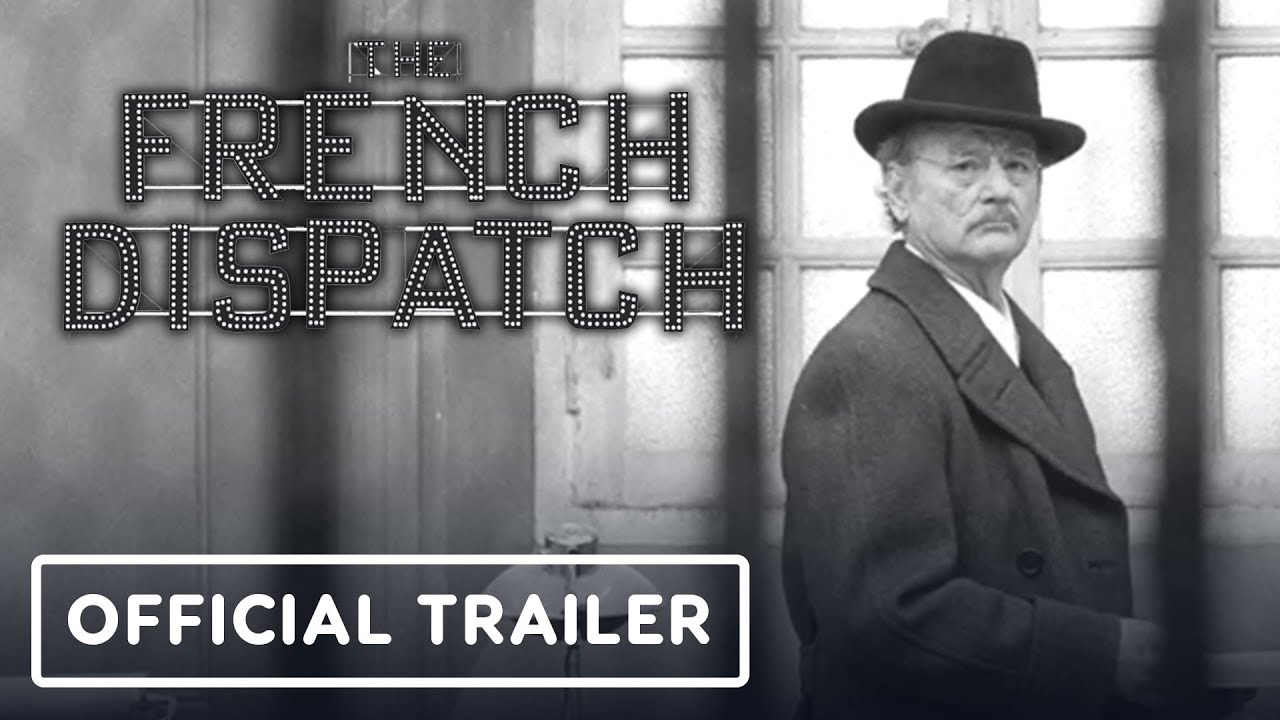 The French Dispatch - Tráiler oficial (2020) Wes Anderson, Bill Murray + vídeo