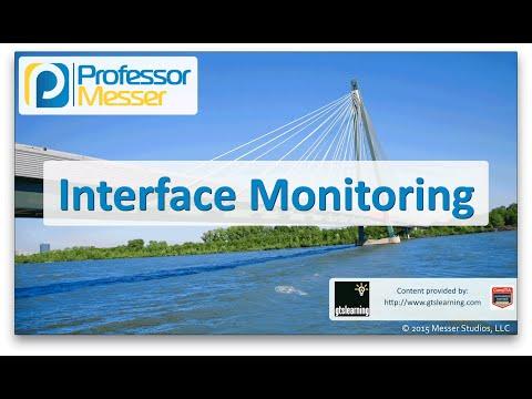Descargar Video Interface Monitoring - CompTIA Network+ N10-006 - 2.2