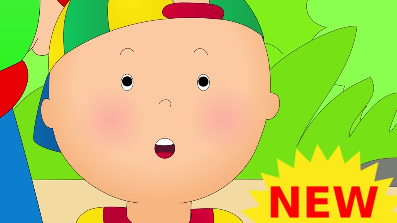 new funny animated cartoons kid caillou rides the school bus watch online cartoon for children