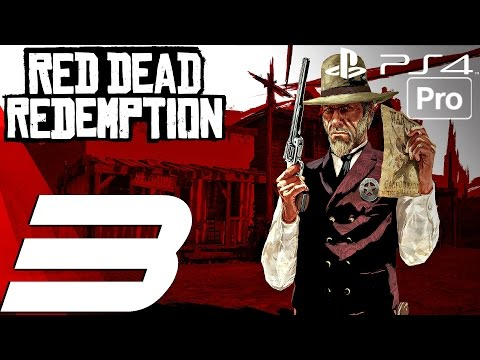 Red Dead Redemption (PS4) - Gameplay Walkthrough Part 3 - Seth's Treasure & Norman Deek