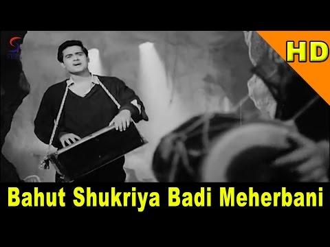 Bahut Shukriya Badi Meherbani | Mohammed Rafi, Asha Bhosle | Joy Mukharjee