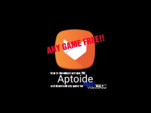 ✔✔How To DOWNLOAD ALL GAME FREE ✔✔(aptoide)