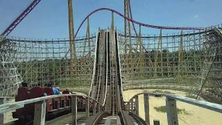 Racer 75 Front Seat POV 2018 FULL HD Kings Dominion