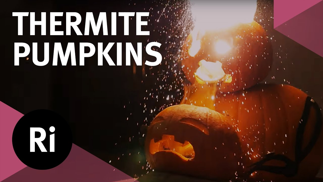 Exploding Thermite Pumpkins Halloween Science Youtube