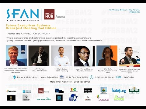 SFAN Future Executives Business Breakfast Meeting (2nd Edition)
