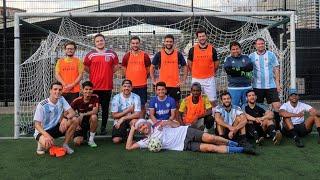 Armé un partido ARGENTINA-INGLATERRA amistoso en LONDRES ¿Quién gana?