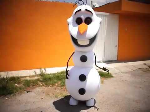 Костюм снеговика Олаф