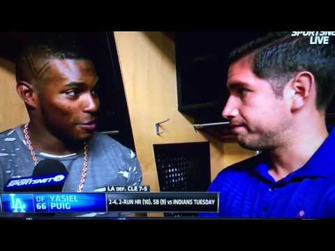 Thumbnail: Puig Postgame Explains Why he Flips Off Indians Fans