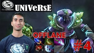 Universe - Faceless Void Offlane Pro Gameplay | Dota 2 MMR #4